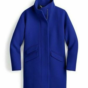 J Crew $350 Cocoon coat Italian stadium-cloth wool